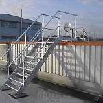 Industrie - Dachtreppe 10 Stufen