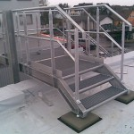 Industrie -  Dachtreppe 3 Stufen